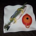 plat poissons ecu de france mauriac