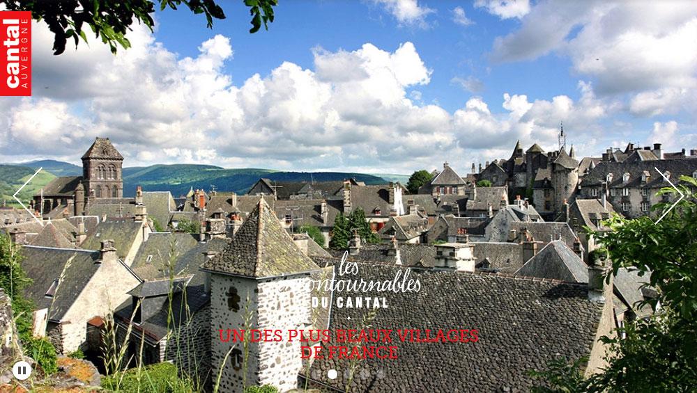 Office de tourisme du cantal h tel restaurant ecu de france - Chambre d agriculture du cantal ...